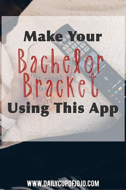 Make your Bachelorette Bracket using this app | Make your Bachelor Bracket using this app