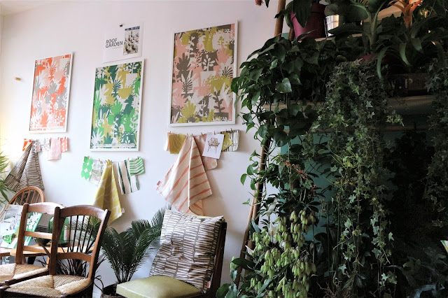 Collection Roof Garden / Textile / Heather Moore / Atelier rue verte /