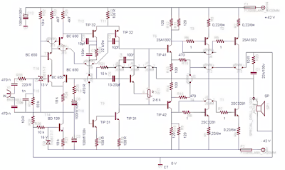 500Watt Power Amplifier Circuit ~ why how diagram