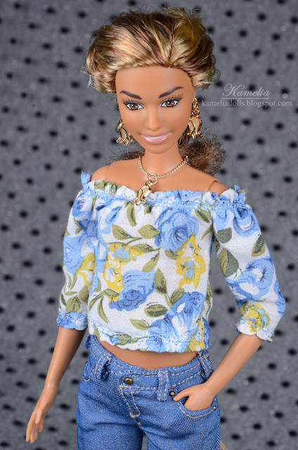 Handmade jewellery for Barbie dolls
