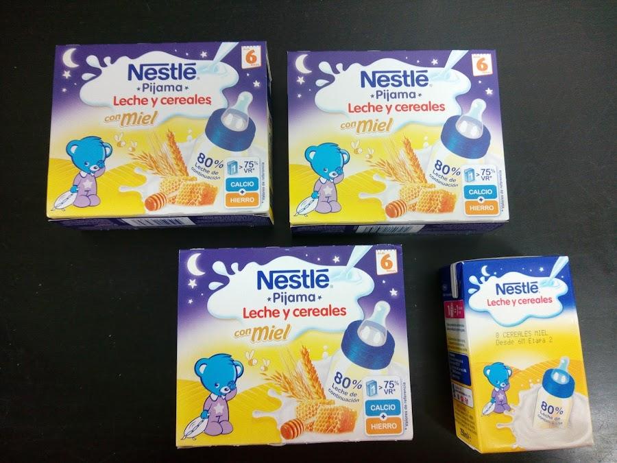 Leche y cereales con Miel Nestle