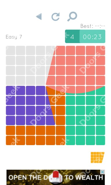 Cheats, Walkthrough for Blocks and Shapes Level 7