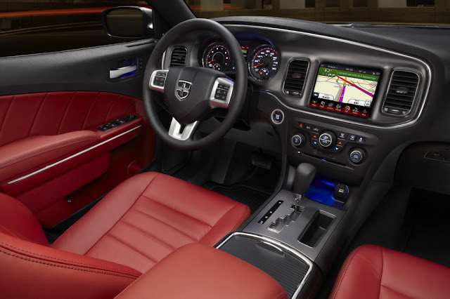 Dodge Charger AWD Sport Interior