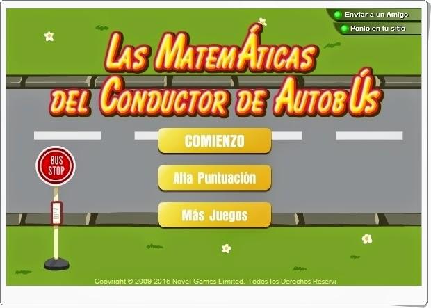 Las Matemáticas del Conductor de Autobús Cálculo mental de Educación Primaria