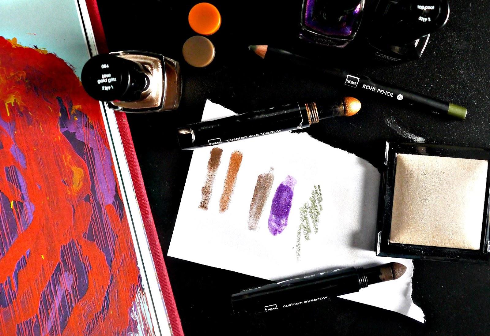 What's good from HEMA cosmetics? // HEMA stores makeup