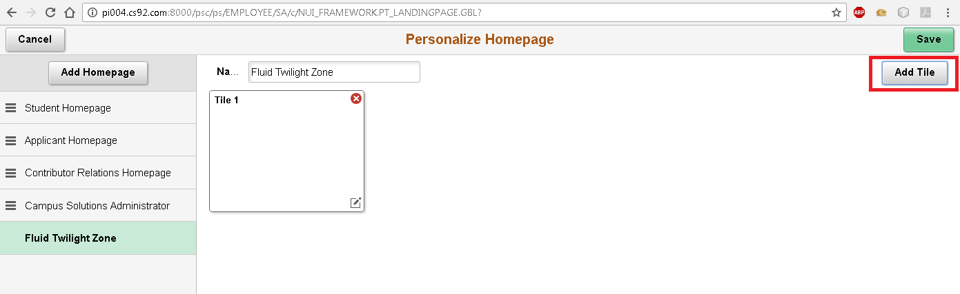 Sasank's PeopleSoft Log: Fluid UI - Tile Wizard API for