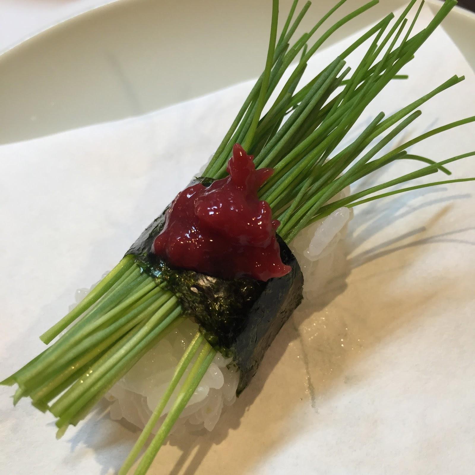寿司 芽 ネギ