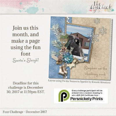 http://www.thedigichick.com/forums/showthread.php?65476-Font-Challenge-December-2017