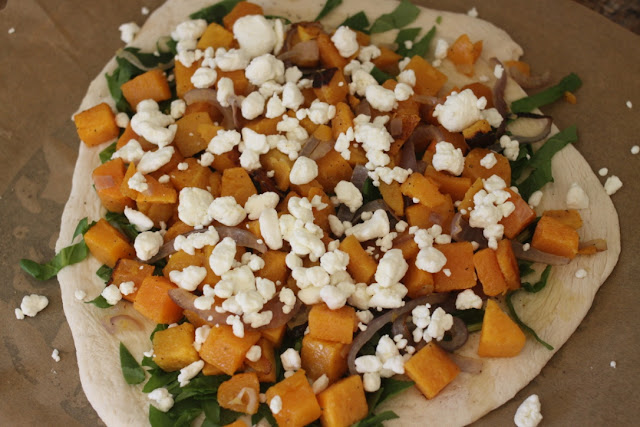The Larson Lingo: Butternut Squash, Spinach & Goat Cheese ...