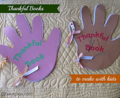 Easy Thankful Books to Make With Your Kids