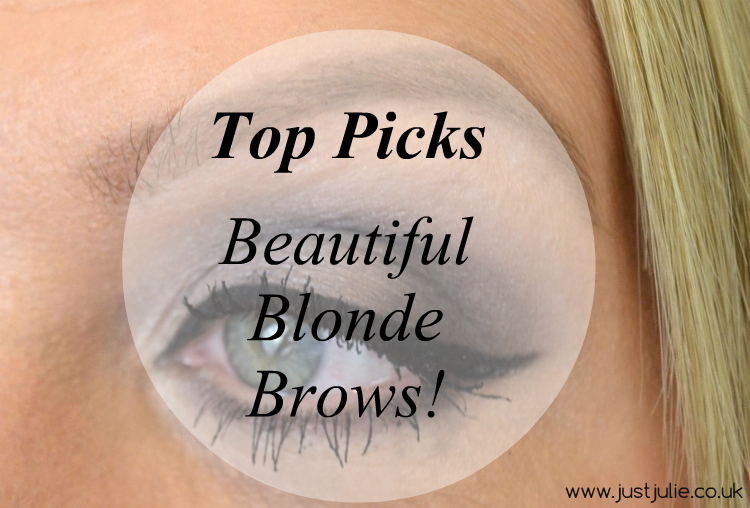 The Best Blonde Brow products