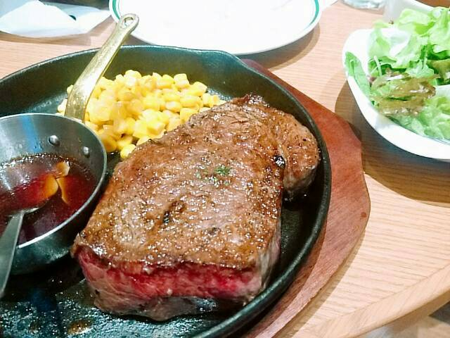 【俺のGrill&Bakery 大手町】豪快なステーキ。。。!!!これぞ丸の内OLのランチだ!!