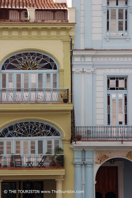 plaza vieja cuba havana facades details the touristin