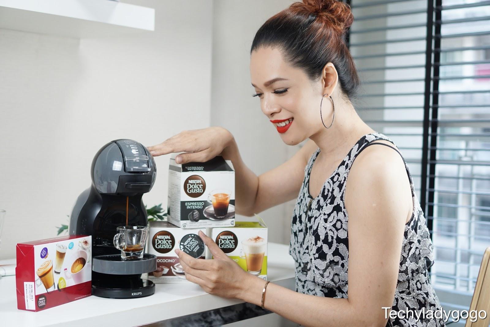 สอนชงกาแฟดำ NESCAFÉ Dolce Gusto รุ่น Mini Me เครื่องชงกาแฟแคปซูล เนสกาแฟ ดอลเช่ กุสโต้ รุ่น มินิมี nescafe ดอยเช่ กุลโต้
