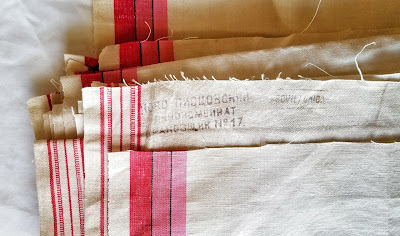 refabulous eco friendly sewing, thrift score, vintage linens