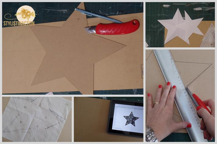 DIY para hacer una estrella de marquesina o marquee light. Es muy facil. Hace la forma que mas te guste
