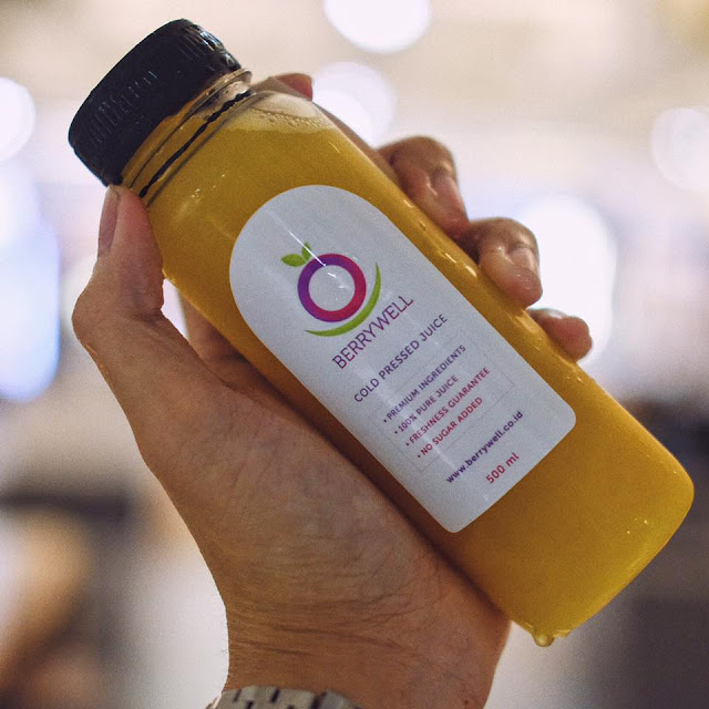 Cold Pressed Juice Berrywell