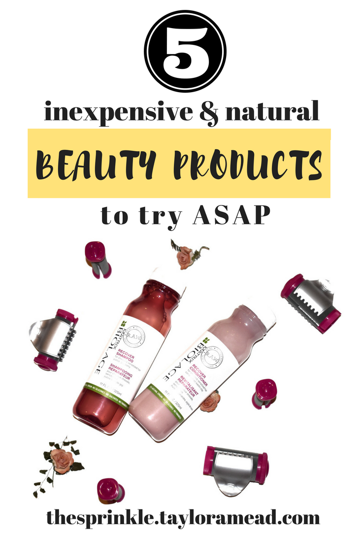 5 Inexpensive & Natural Beauty Products You Have to Try ASAP - The Millennial Sprinkle