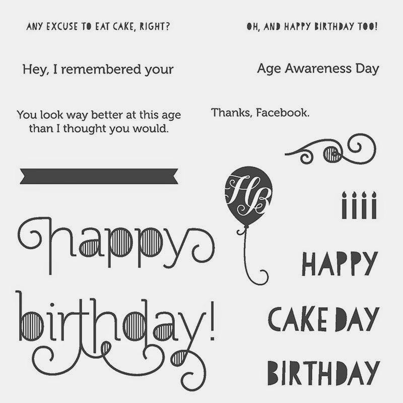Retro, Age Awareness, Stampin' Up!, Stamp With Trude, Trude Thoman, stampwithtrude.blogspot.com , birthday card, flip card