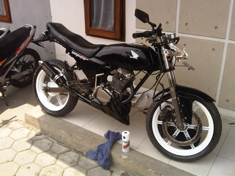 Kumpulan Foto Modifikasi Motor Honda GL Pro Terbaru