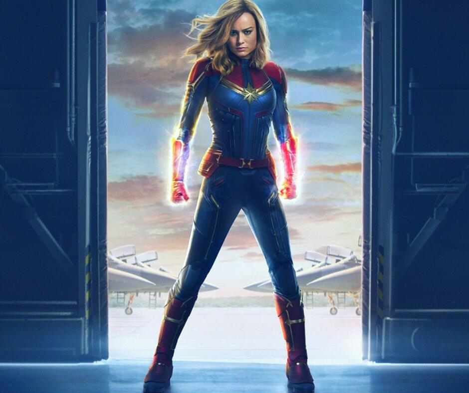 Capitã Marvel e protagonismo feminino