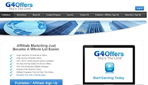 G4Offers Review : Top CPA Affiliate Network