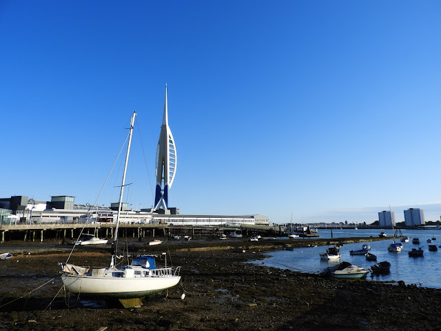 spinnaker Tower portsmouth harbour station