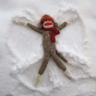 Monkey;s love snow too