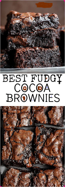 Desset recipes best fudgy cocoa brownie