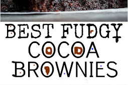 Dessert Recipes - Best Fudgy Cocoa Brownies