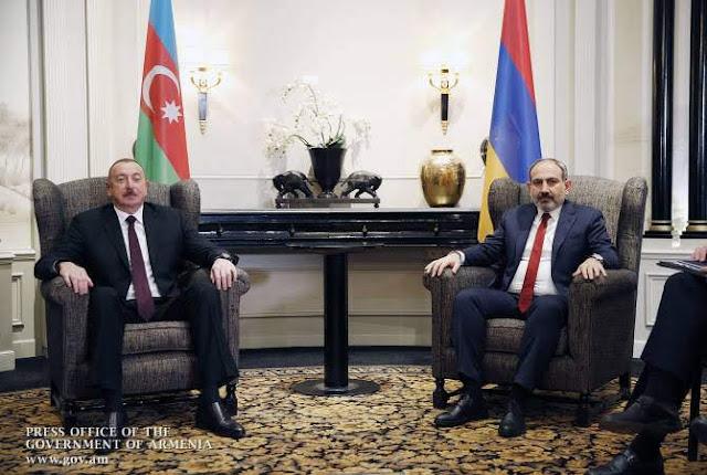 Termina reunión de Pashinyan y Aliyev en Viena