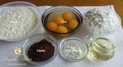 Preparare prajitura cu nuca - etapa 1