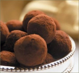Trufas de Chocolate Thermomix