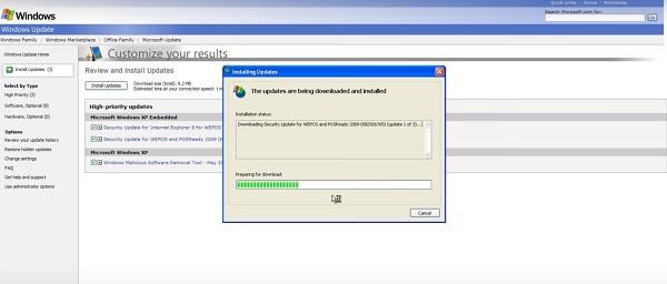 How to Get Windows XP Update 2