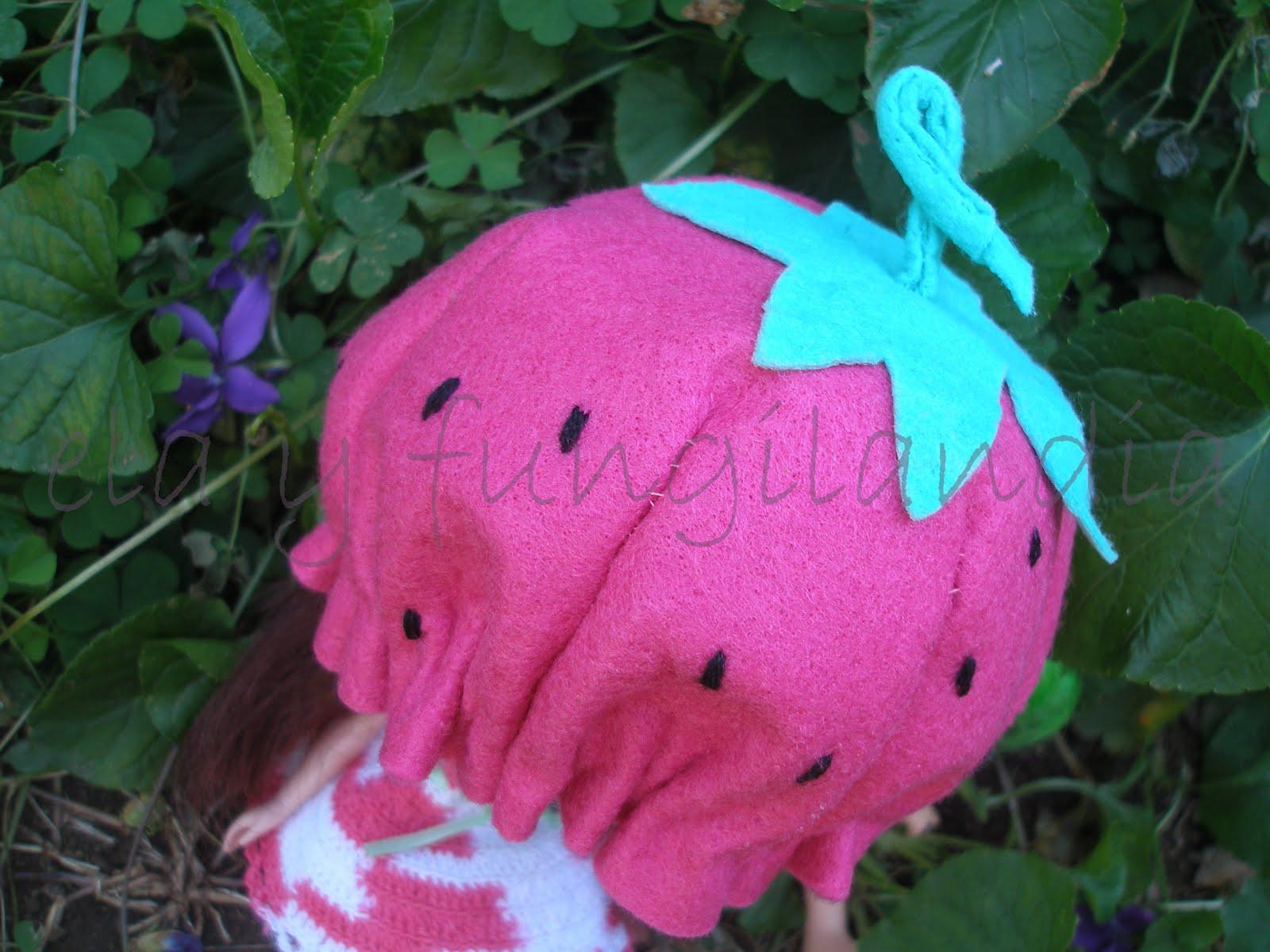 El Vestidor De Ela Y Fungilandia: Disfraz De Fresa