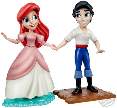 Disney Princess Comics Collection Target Exclusive Products The Little Mermaid Ariel and Friends Figures 001