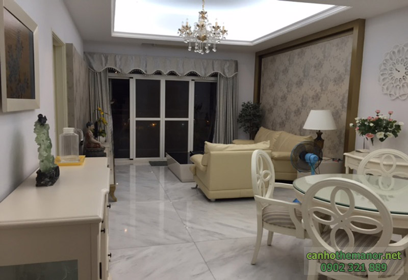 cho thue can ho the manor 90m2