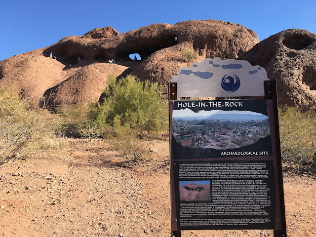 Hole in the Rock, Papago Park, Phoenix AZ
