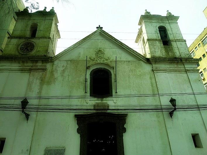 Catedral de São Pedro, no centro de Rio Grande