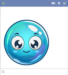 Big Blue Emoji