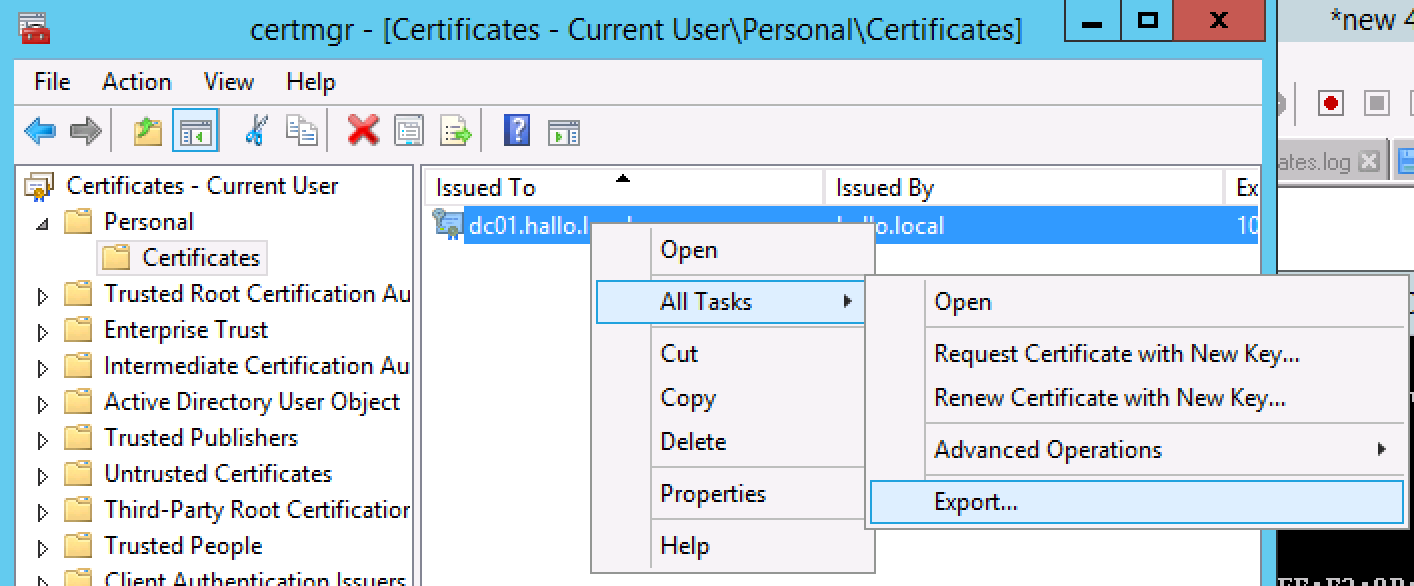 Roberts Techworld Tdi Sdi Connect To Active Directory Over Ssl