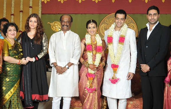 Rajinikanth Family Rajanikanth wife, daug...