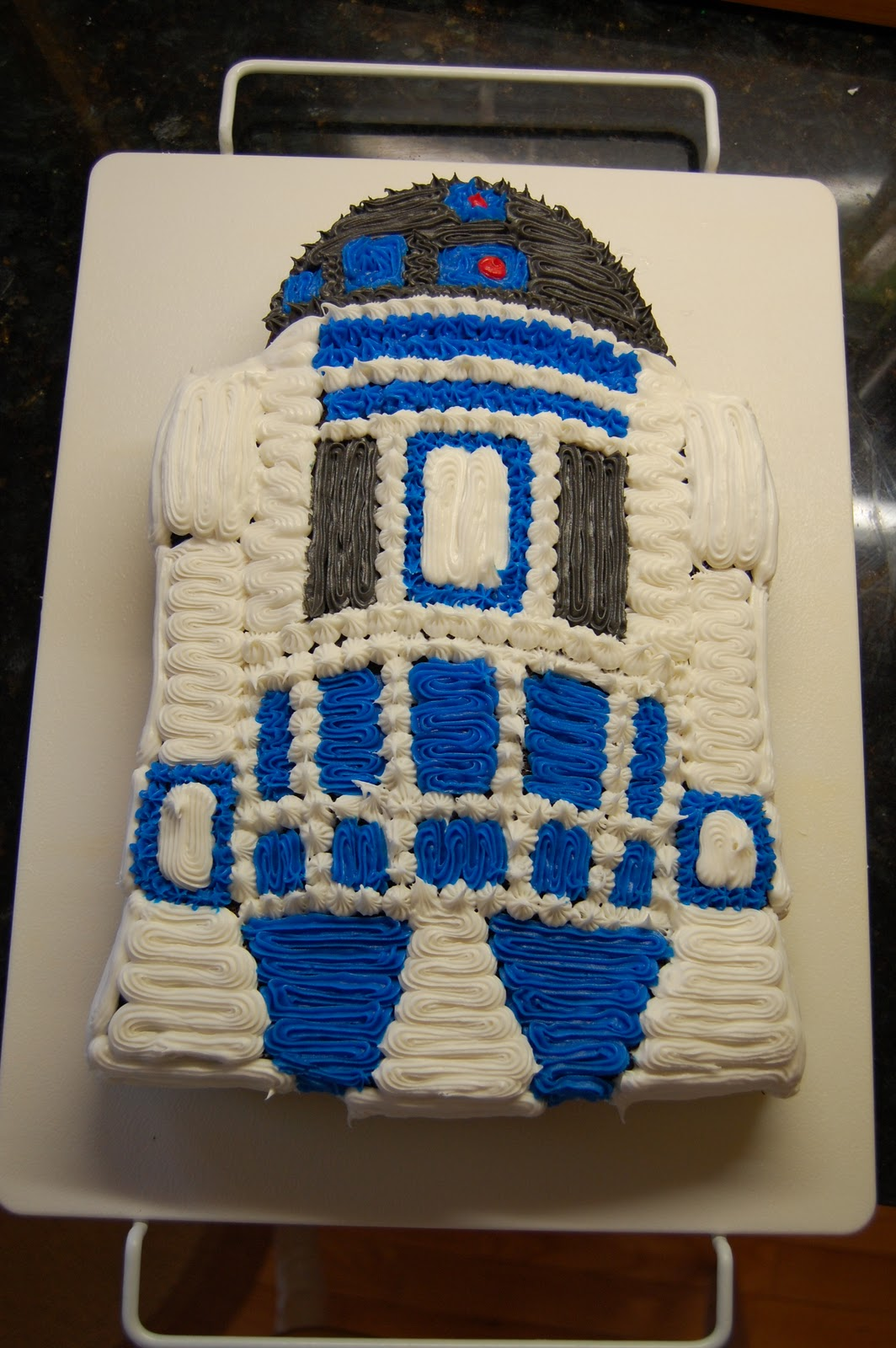 52 Cakes The Great Cake Experiment R2d2 Birthday Cake