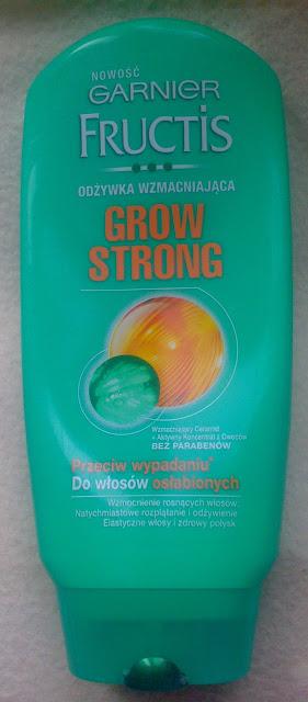 Garnier Fructis, Grow Strong - odżywka (stara wersja).