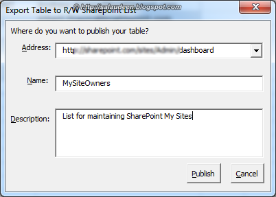 synchronize sharepoint list and excel