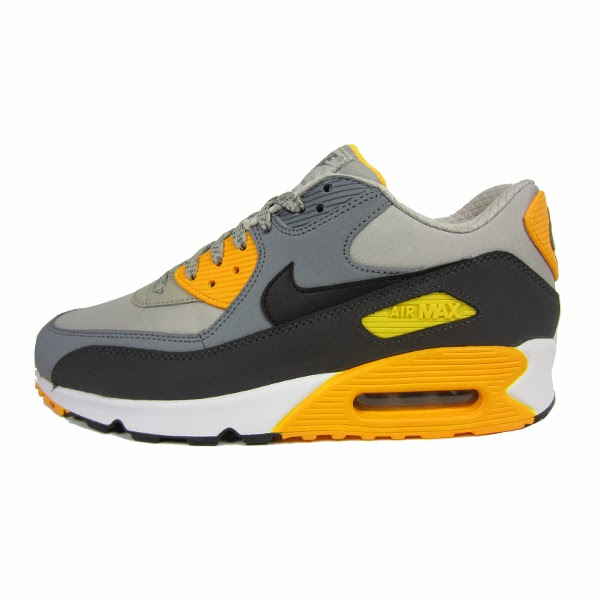 separation shoes 2e6df d03eb Nike Air Max 1 Essential. Dark Grey, Laser Orange, Anthracite, Black.