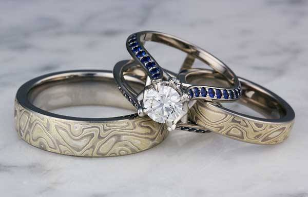 Personalized Wedding Ring Sets 26 Popular  team and craftsmen