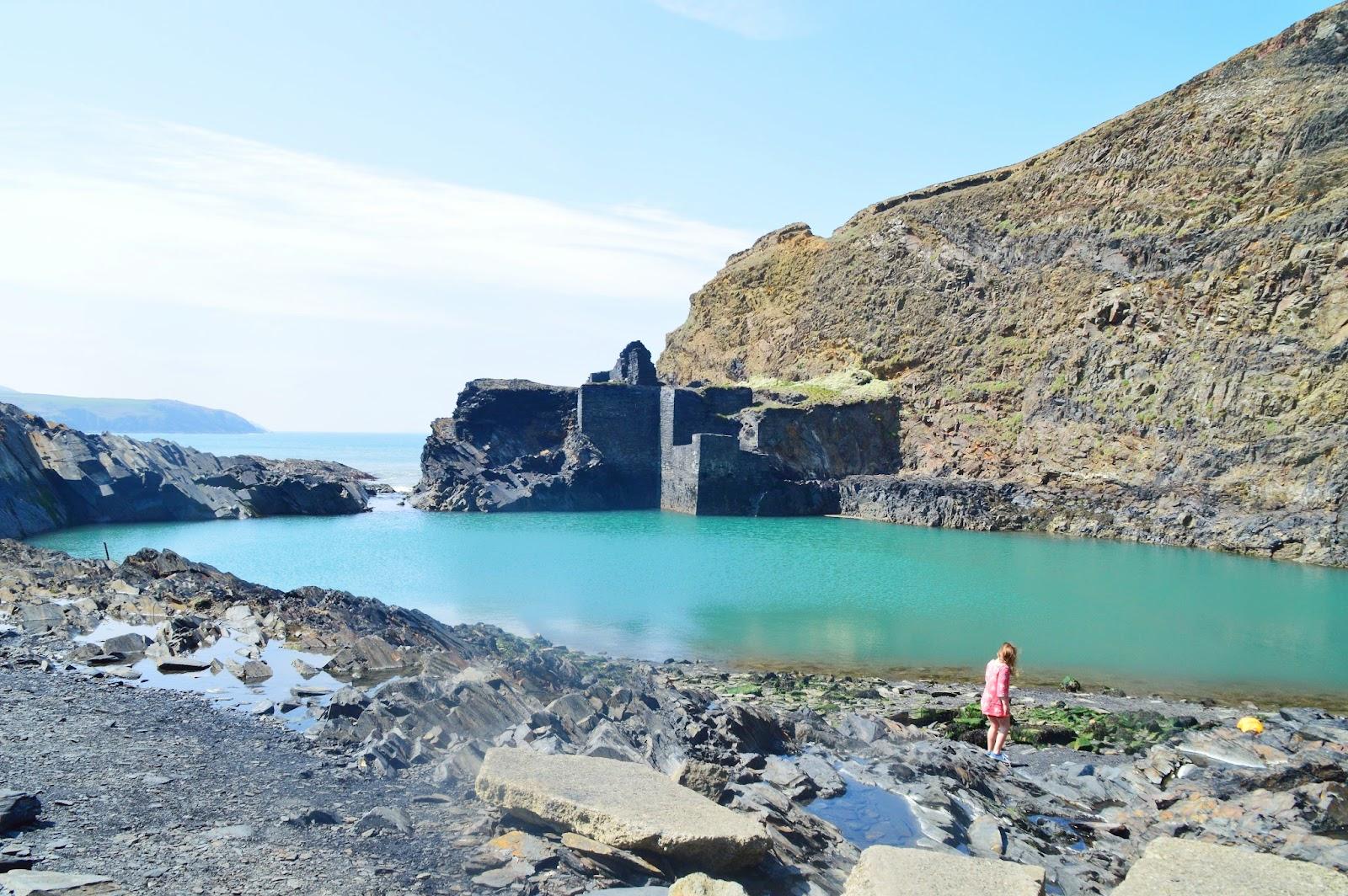 , Photographing Pembrokeshire- Blue Lagoon Abereiddy,