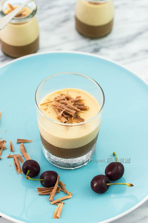 Layered Coffee Panna Cotta03