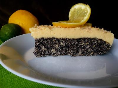 Ciasto makowe z lemon curd